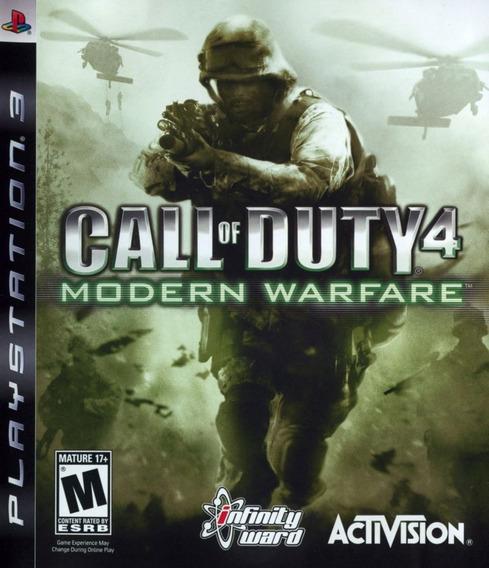 Call Of Duty 4 Modern Warfare Seminovo Top! Loja Física!