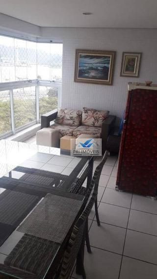 Apartamento Para Alugar, 132 M² Por R$ 3.800,00/mês - Ponta Da Praia - Santos/sp - Ap1210