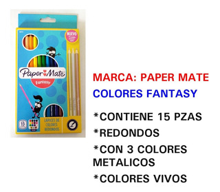Lapiz De Colores Paper Mate Lote 10 Pzas Incluye Envio