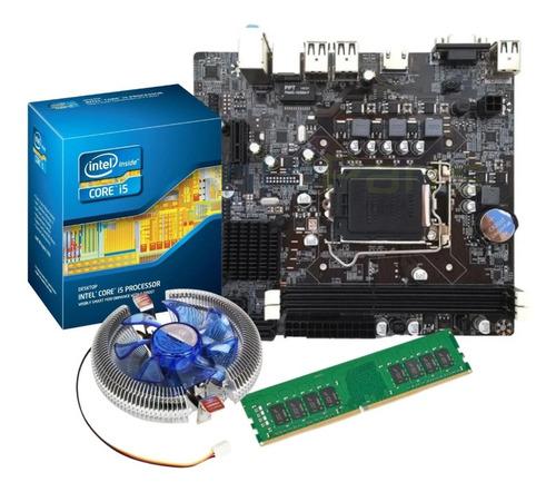 Imagem 1 de 7 de Kit Processador I5 3570 + Placa Mãe H61 + 8gb Ddr3 Promoção