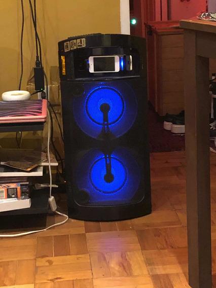Aparelho De Som Sony - As Luzes Piscantes Clima De Balada