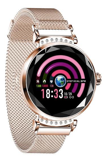 Reloj Inteligente Más Nuevo Moda Mujeres 3d Diamante-h2