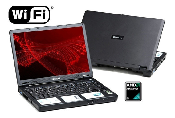 Notebook Evolute Amd Athlon X2 1.8ghz 2gb Hd120 Outlet