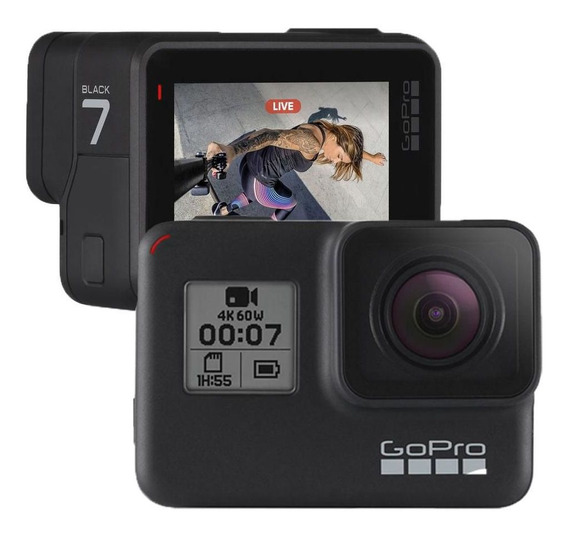 Camera Go Pro Hd Hero 7 Black