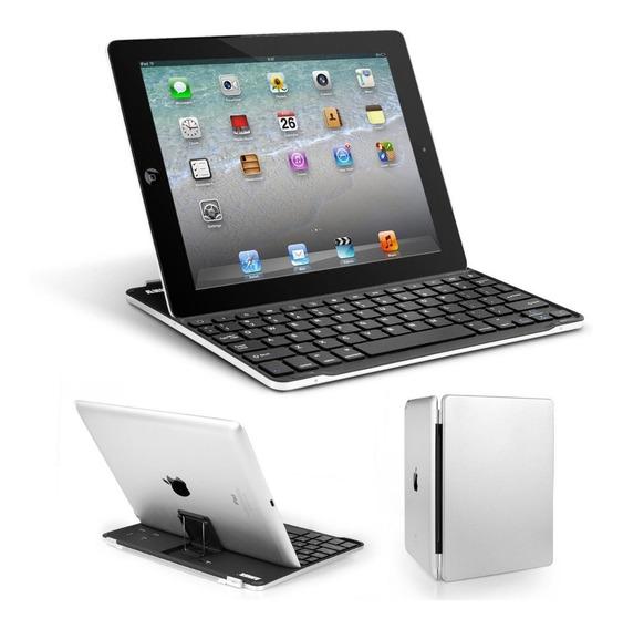 Teclado Bluetooth Iluminado iPad 2 iPad 3 iPad 4 Vira Capa