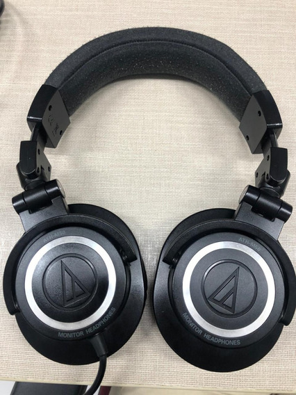 Headphone Audio Technica Ath M50