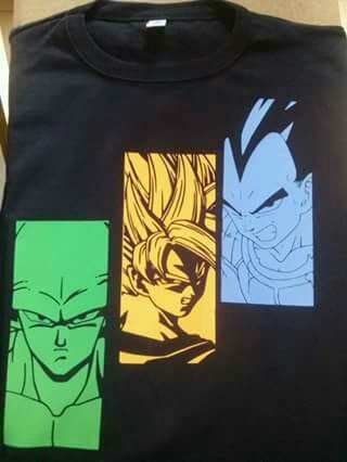 Remeras Dragon Ball