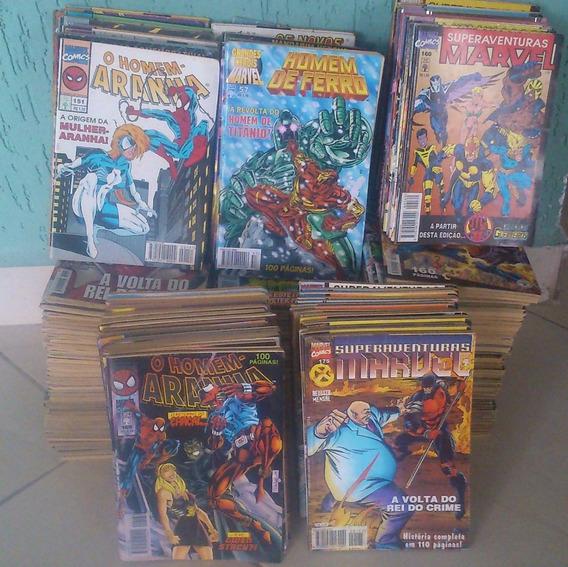 Homem Aranha, Ghm, Sam E A Teia Do Aranha - 6 Revistas 39,99