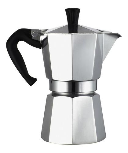 Cafetera Italiana Para 6 Tazas Aluminio