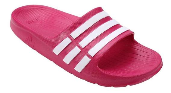 Chinelo adidas Pala Slide Duramo G06797 Infantil Pink