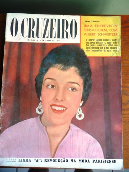 Revista O Cruzeiro - Nº 25 (moda, O Crime Do Sacopã) Ano1955