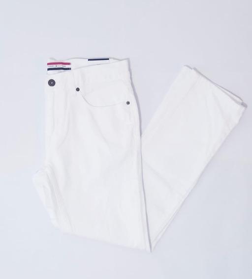 Pantalón Blanco Dama Tommy Hilfiger Talla 8