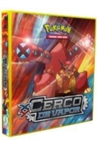 Album Pokémon Para Cards Cerco De Vapor Volcanion