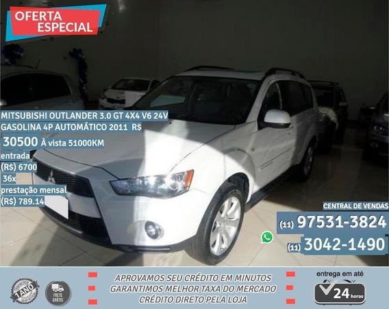 Mitsubishi Outlander 2011 3.0 V6 Gt 4wd 5p