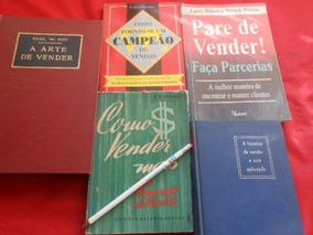 Vendas Estratégias Soluções Lote Com 5 Livros Compre Já
