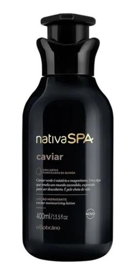 Nativa Spa Caviar Hidratante Corporal 400 Ml - Oboticário