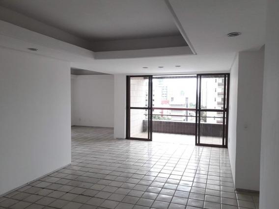 Apartamento Em Espinheiro, Recife/pe De 179m² 4 Quartos À Venda Por R$ 589.000,00 - Ap344832