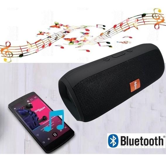 Caixa De Som Amplificada Portatil Bluetooth Sem Fio Mp3