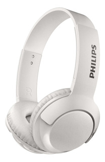 Auriculares inalámbricos Philips BASS+ SHB3075 white