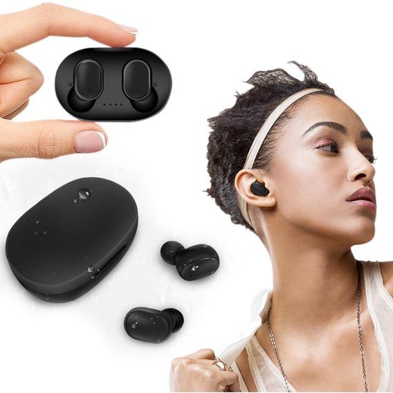 Fone De Ouvido Sem Fio Bluetooth Com Microfone A6s