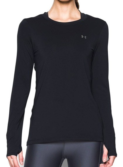 Remera Under Armour Training Ua Hg Armour Mujer Ng