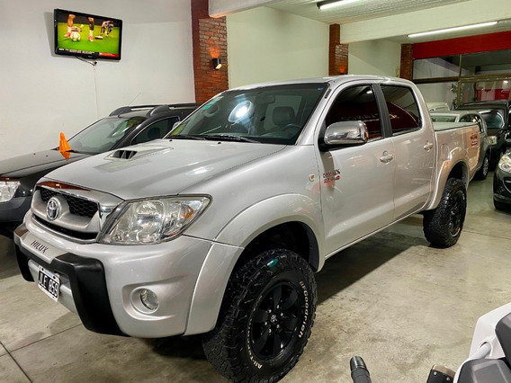 Toyota Hilux 4x4 Srv Cab Doble 3.0 Tdi Cuero 2010