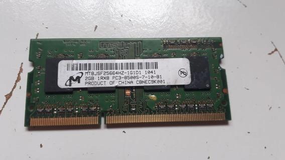 Memoria Mt8jsf2566 2gb 1rx Pc3-8500s B53
