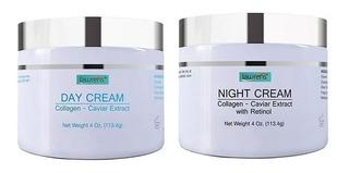 Cremas Antiarrugas Tratamiento De 2 Pzs Día Y Noche