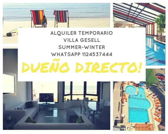 Alquiler Villa Gesell / Al Mar / Dentro Del Hotel Marges
