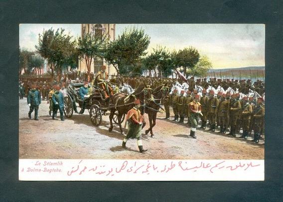 Turquia . Antigua Tarjeta Postal . Le Selamlik .
