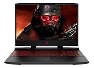 Laptop Hp Gamer Omen I7 9750h 128ssd + 1tb Hdd Gtx 1650 W10