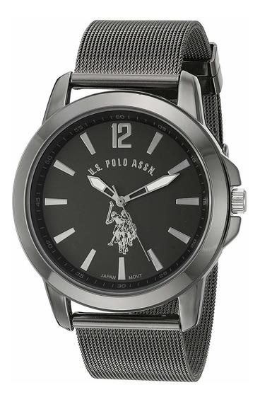 Relógio U.s. Polo Assn.masculino Homem Metal Quartzo Clássic