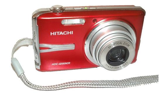 Câmera Hitachi Hdc-1299er 12mp + Carregador + Bateria (#9h1)