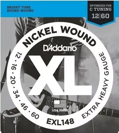 Encordado Guitarra Daddario Exl148 Extra Heavy 012-060
