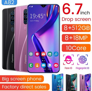 Smartphone A82, 512gb, Android 9.0, 8gb Ram