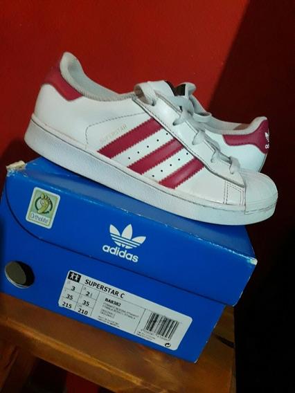 Zapatillas adidas Superstar C Originales Us 3 Talle 35