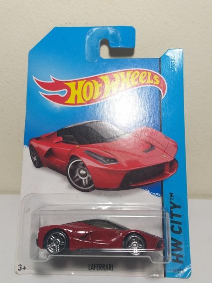 Laferrari Hw City 2014 Hot Wheels 38/250 Lacrado Escala 1/64