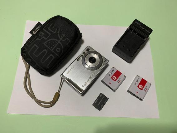 Câmera Fotográfica Sony Cyber Shot Dsc-w80