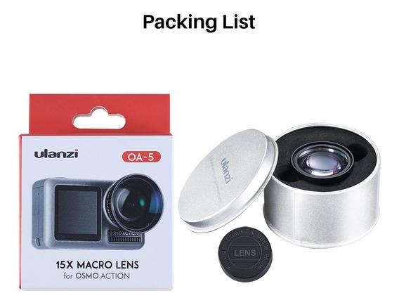 Ulanzi Oa-5 - Lente Camera Macro Para Dji Osmo Action Macro