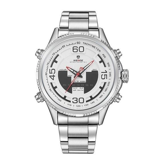 Reloj Weide Original Wh6306-2c Clásico Formal Unisex + Caja