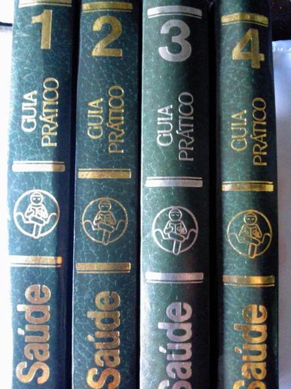 Livro Medicina E Saúde Guia Prático 4 Volumes