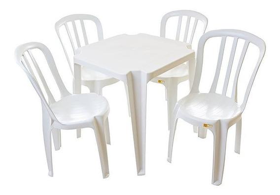 Conjunto De Mesas E Cadeiras Goyania Para 182 K