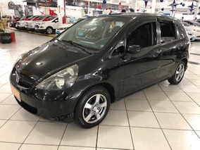 Honda Fit 1.4 Lx Flex 5p - Preto - 2008/2008