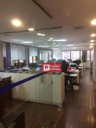 Conjunto Para Alugar, 210 M² Por R$ 16.800,00/mês - Pinheiros - São Paulo/sp - Cj1654