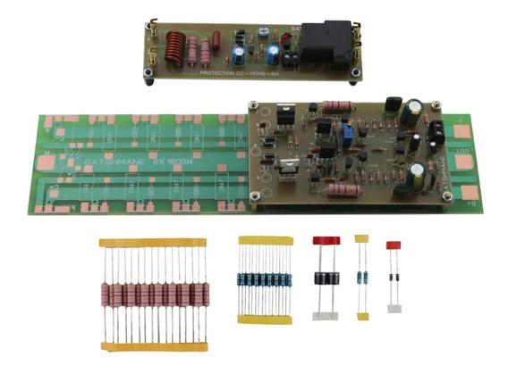 Placa Montada Amplificador 1600w Sem Transistores De Saída