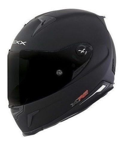 Casco Integral Nexx Xr2 Carbon Plain Negro Mate Importado