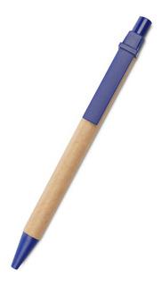 50 Lapiceras Bolígrafos Ecológicos Cartón Reciclado Sin Logo