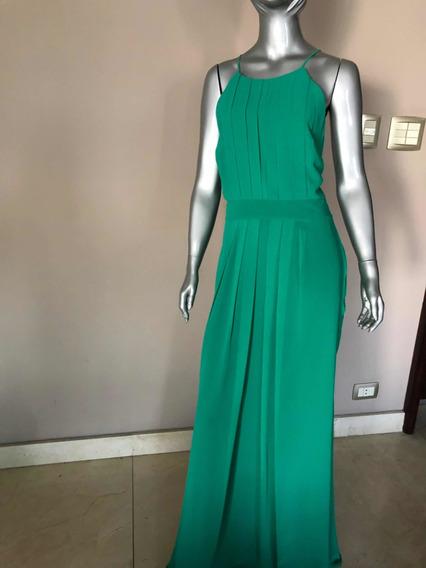 Vestido Básico E Elegante Tamanho 44 De Crepe