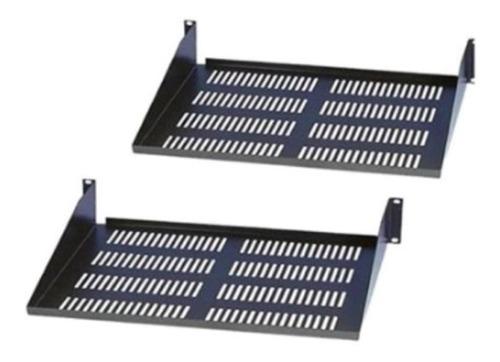 Bandeja Para Rack Metalica Porta Equipo 35 Cm De Profundidad