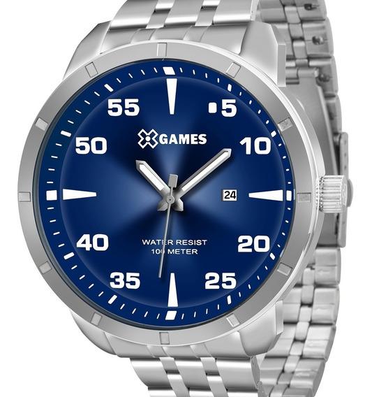 Relógio X-games Prata Masculino Xmss1033 D2sx Com Nota